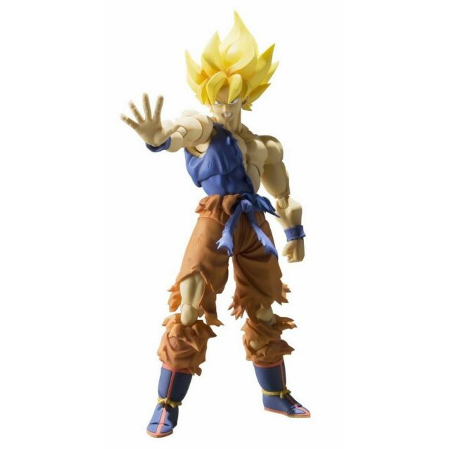 S.H IN STOCK USA Figuarts Super Saiyan Son Goku Super Warrior Awakening Ver.