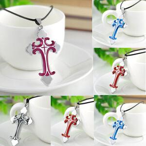 Unisex-Men-Women-Stainless-Steel-Cross-Pendant-Necklace-Chain-Jewelry-Gift
