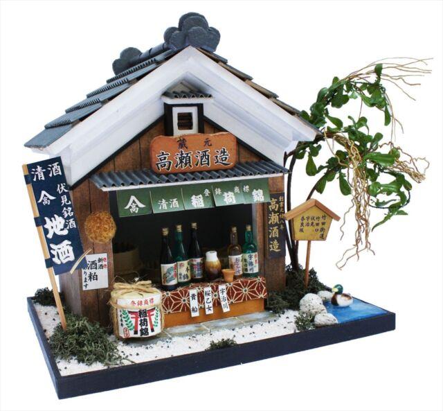 New Japanese Wine House Dollhouse Miniature DIY Kit doll house GIFT