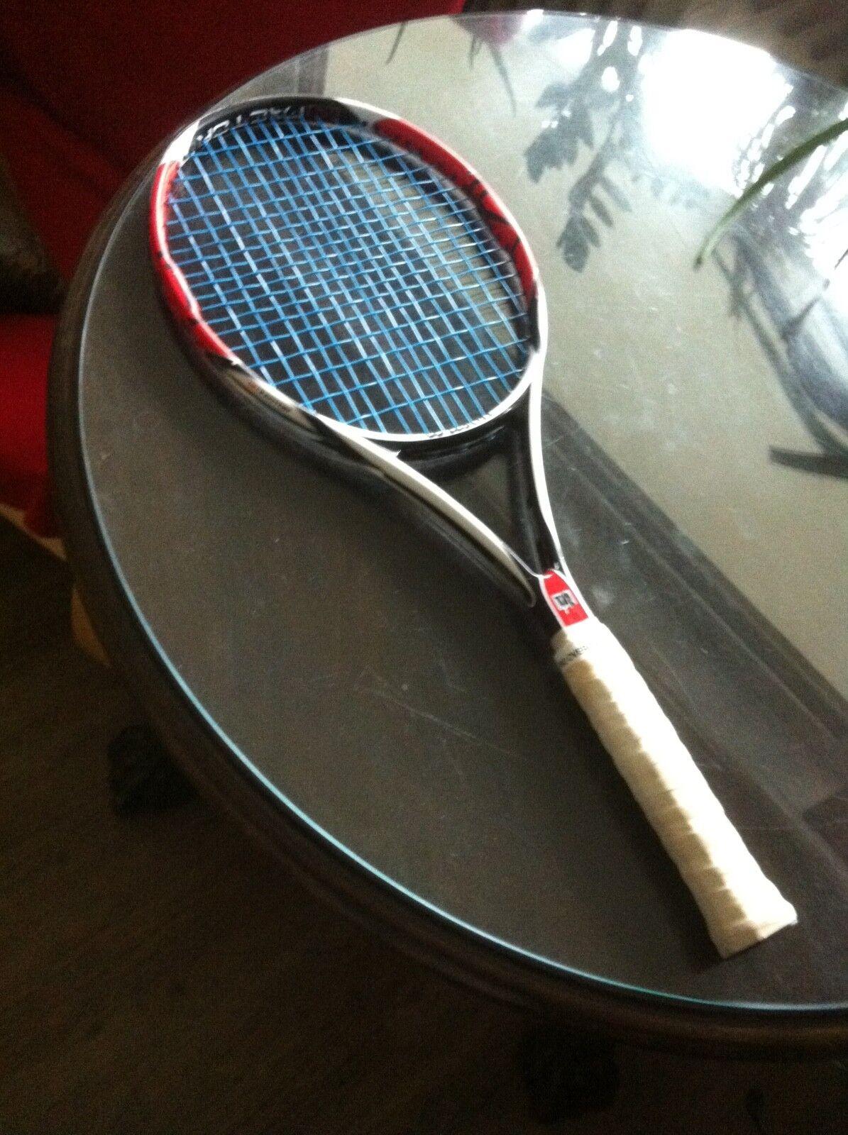 Wilson RF Pro Staff Six One K Factor Factor Factor 95 BLX Tennisschläger Racket L3Federer 72684b
