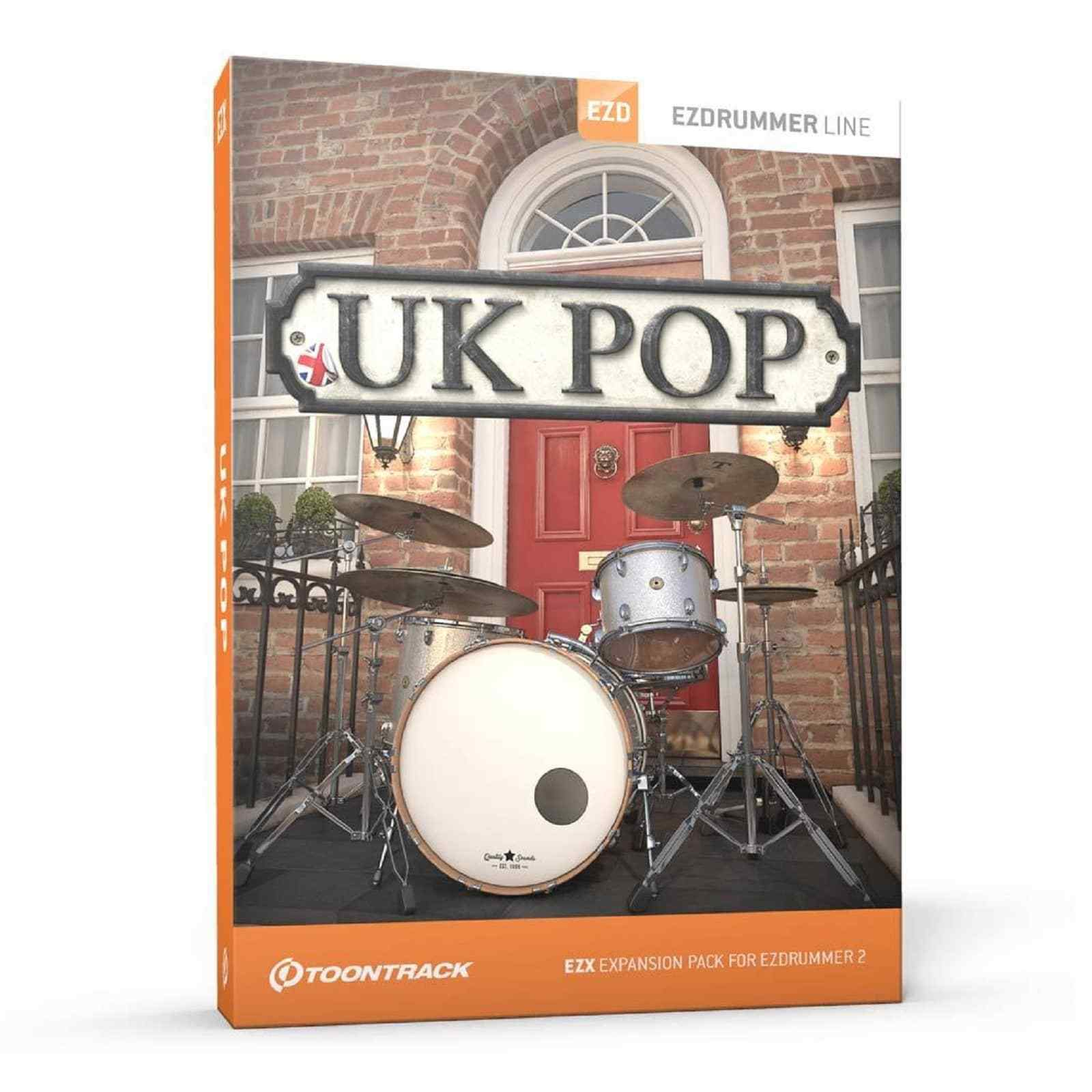 ToonTrack UK Pop EZX - EZ Drummer Expansion (Serial Download)