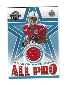 Image is loading Marvin-Harrison-2003-Topps-Pro-Bowl-Jersey-Card- 91fa5f4f3