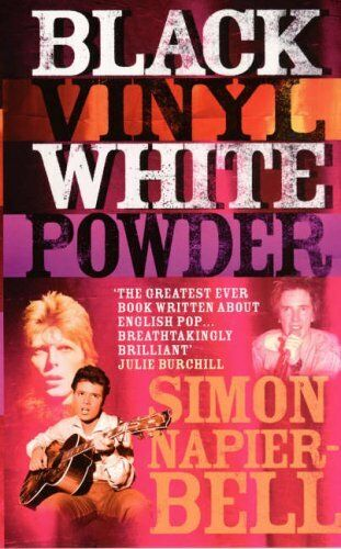1 of 1 - Black Vinyl White Powder by Napier-Bell, Simon 0091880920 The Cheap Fast Free