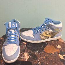 7a18c9678bce63 item 4 Nike Air Jordan I Retro 1 ALPHA OMEGA UNC WHITE UNIVERSITY BLUE  316269-142 18 -Nike Air Jordan I Retro 1 ALPHA OMEGA UNC WHITE UNIVERSITY  BLUE ...