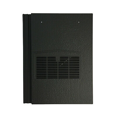 49 Tuile ventilation pour s/'adapter U.K Marley Ludlow Plusnoir granulé