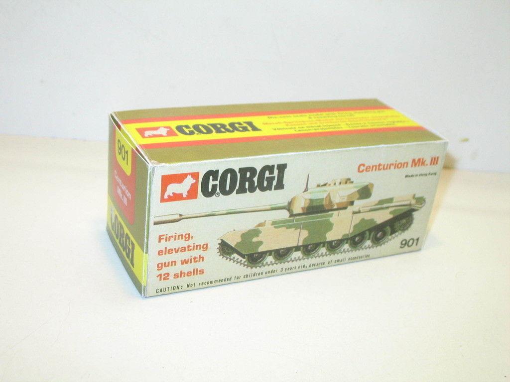 N87, Schachtel repro Panzer CENTURION, Militär CORGI