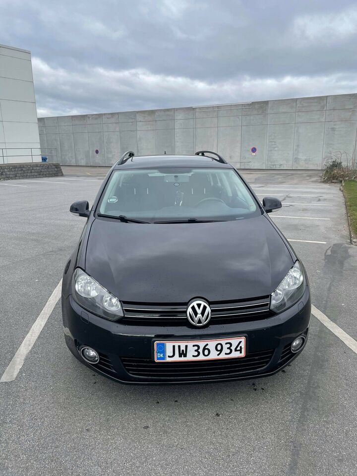 VW Golf VI, 1,6 TDi 105 Trendline Variant BMT, Diesel