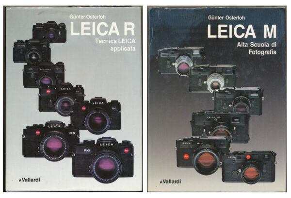 CréAtif G.osterlohi Leica M Alta Scuola Di Fotog.- Leica R Tecnica Leica Applicata D1034 Assurer IndéFiniment Une Apparence Nouvelle