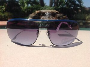 5fcffcfa8e Image is loading STEVE-MADDEN-WOMENS-SUNGLASSES-AVIATOR-S3024-GUNMETAL-BLUE-