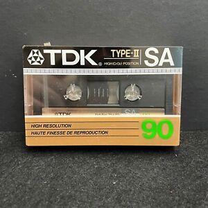 TDK - TYPE-II SA 90 CrO2 - Blank Cassette Tape