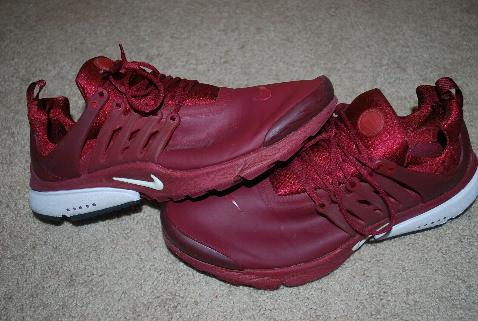 083b9c6204a Men's Nike Presto Utility Red Sneakers (10) 862749-600 Air Low  nnqexn3481-Athletic Shoes