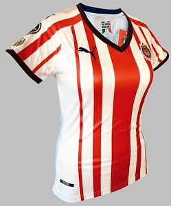 check out 74e98 361a3 Details about Chivas Home Women Soccer Jersey Shirt with Liga Mx Patch New  PUMA