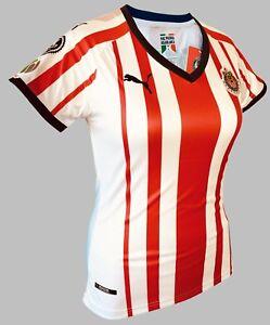 d27350998f7 Chivas Home Women Soccer Jersey Shirt  9 Alan Pulido with Liga Mx ...