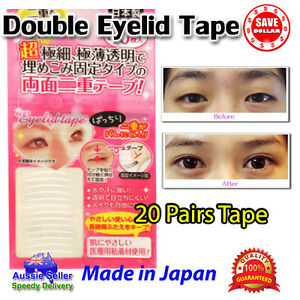 20pairs-Technical-Double-Eyelid-Wide-Narrow-Sticker-Tape-Eye-Made-in-Japan