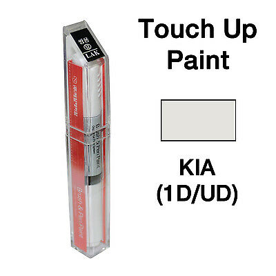 UD Clear White OEM Touch up scratch repair Brush Pen Paint for Kia 1D