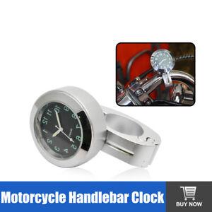 7-8-039-039-1-039-039-UNIVERSALE-IMPERMEABLE-Aluminum-MANUBRIO-OROLOGIO-PER-MOTO-Bianco-IT