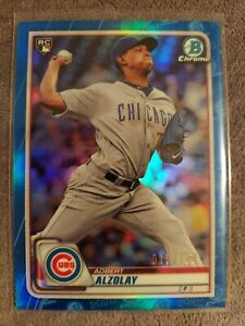 2020-Bowman-Chrome-Adbert-Alzolay-Chicago-Cubs-True-Blue-Rookie-Ref-15-150