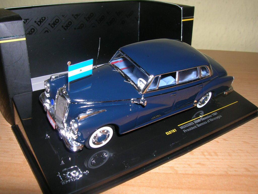 Ixo mercedes 300d 300 d Limousine President President President somoza of Nicaragua, 1957 1 43 bcb2e2