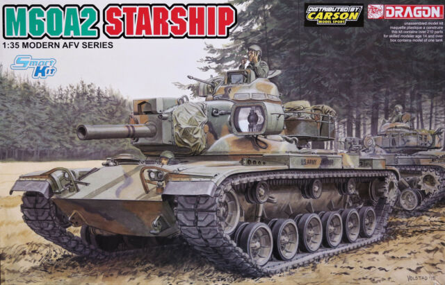 "DRAGON 3562 ""M60A2 STARSHIP"" in 1:35"