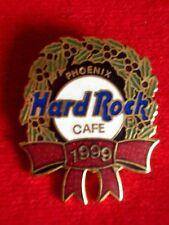 HRC Hard Rock Cafe Phoenix Christmas 1999 Logo Wreath