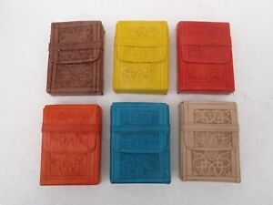 Moroccan-Embossed-Leather-Cigarette-Box-Assorted-Colours