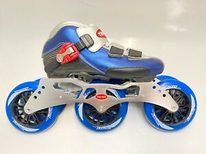 110mm wheels. Inline Speed Skates by Trurev  3 skate frame ceramic bearings