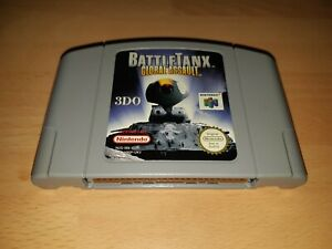 Battletanx Global Assault-N64-PAL-Cartucho únicamente-MBC-trabajo