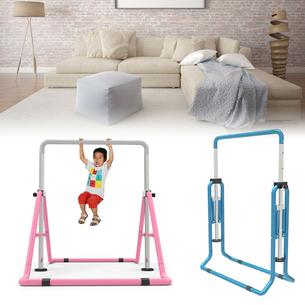 Training Bar Horizontal  Gymnastic Junior Kip Bar Indoor Fitting Sport Expandable  fast shipping to you