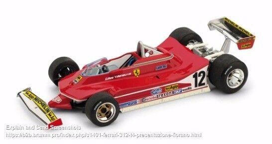 Ferrari 1979 Villeneuve G  Brumm