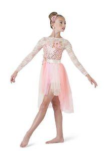 Girl-Costume-Gallery-17233-WARM-SEASONS-Pink-Lyrical-Ballet-Costume-Size-CM