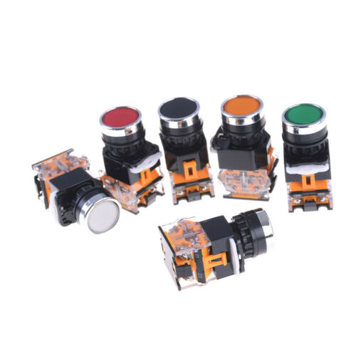 "7//8/"" 660V 10A Push Button Press Emergency Momentary Stop Switch 22mm OJ"