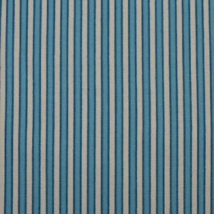 100-Cotton-Quilt-Sew-Fabric-by-the-Half-Yard-18-034-Ticking-Stripe-Blue