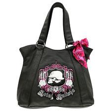 Metal Mulisha Women's Manicure Purse Handbag Black formal casual everyday bag