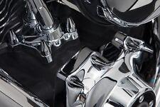 Ciro Chrome And Black Spike Engine Bolt Cover Hot Spot Kit For Harley Twim Cam