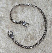 Charivari Taschenuhrenkette Charivarikette Schwere Uhrenkette Karabiner