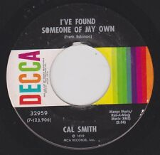 CAL SMITH {70s Country} I've Found Someone Of My Own / The Lights Of The ♫HEAR