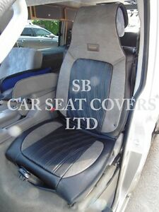 TO FIT A PEUGEOT 206 CAR, SEAT COVERS, YS03 ROSSINI SPORTS BLACK ...