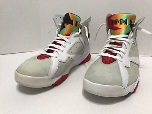 official photos 0167d 77378 Details about Nike Air Jordan 7 Retro Hare Bugs Bunny White True Red 304775  125 Sz 14