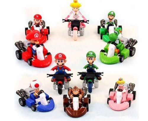 Super Mario Brothers PVC figure figures  toys set of 10pcs doll dolls L12 Collec