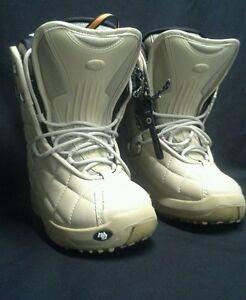 Northwave Legend Tan Brown Snowboard Boots USM Size 5 USL 7- EUC