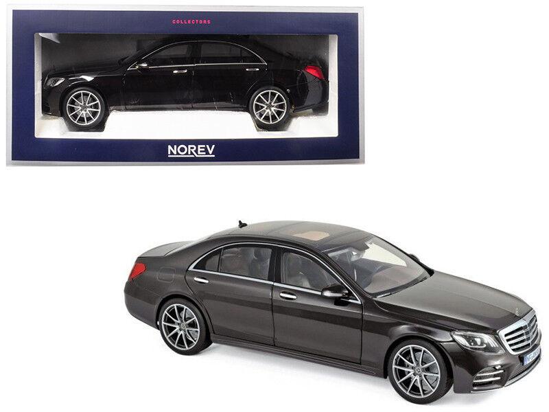 1 18 Norev Mercedes Benz classe S AMG Diecast Modèle Métallique Ruby Noir 183483