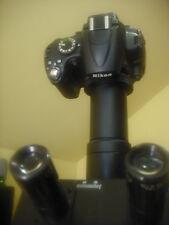 Nikon Microscope camera adapter 38 mm w/tube 2 Nikon F mount Wild Leica