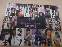 DANA INTERNATIONAL EUROVISION ISRAEL  israeli PROMO cd single DING DONG