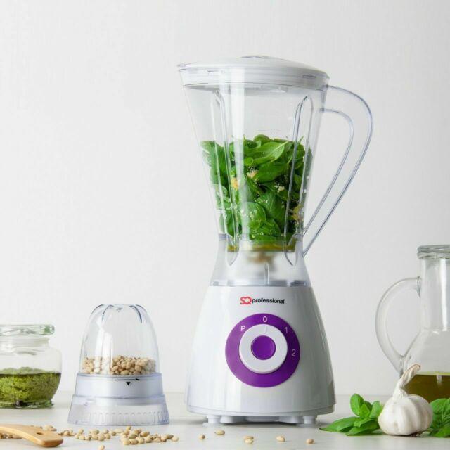 Calitek Sports Fruit Veg Smoothie Shake Blender with Grinder Cup