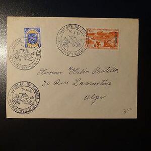 ALGERIA-N-337C-N-350-SUR-LETTERA-COVER-1-GIORNO-FDC