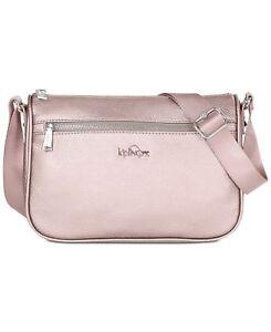 hot-selling professional choose best pretty cheap Details about Kipling Crossbody Bag Callie Vegan Leather Crossbody Rose  Gold Metallic