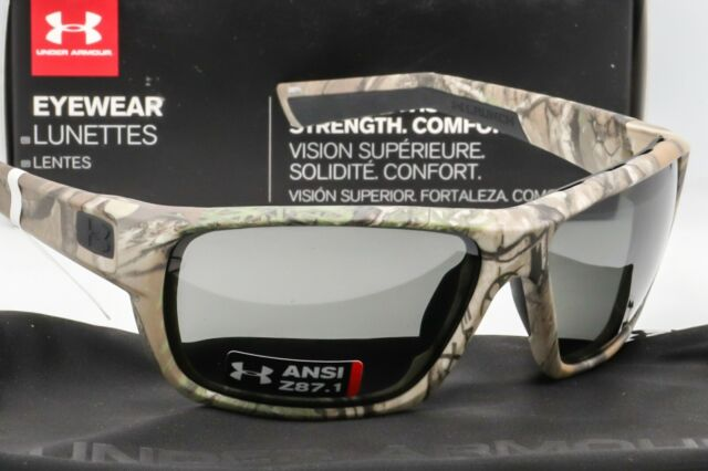 NEW UNDER ARMOUR LAUNCH SUNGLASSES Realtree Camo frame//Grey lens ANSI Z87.1