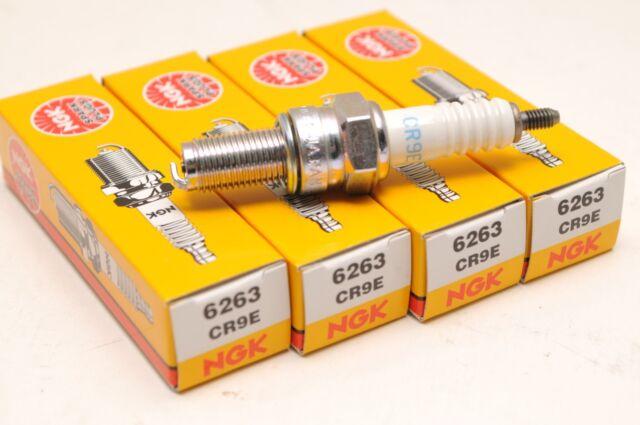 (4) NGK CR9E 6263 Spark Plug Plugs Bougies - Lot of Four /  Lot de Quatre