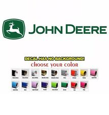 John Deere Logo Custom Die Cut Vinyl Decal Sticker