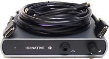 Avid HD Native Thunderbolt Interface for Pro Tools